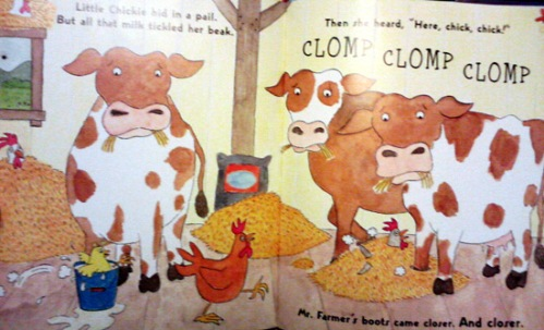So many cows in Chicken Soup book