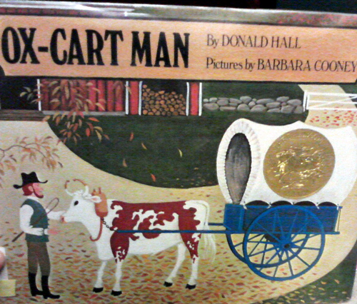 Ox-cart man by Donald Hall