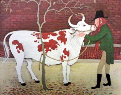 Ox cart man by Donald Hall