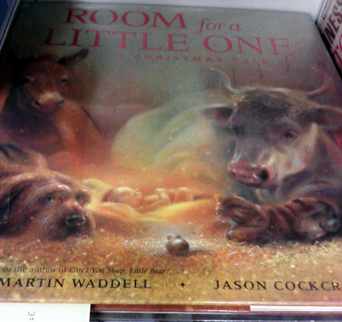 Room for a little one, a Christmas tale by Martin Wadell