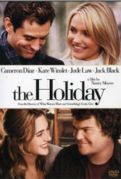 The Holiday movie with Jude Law and Cameron Diaz