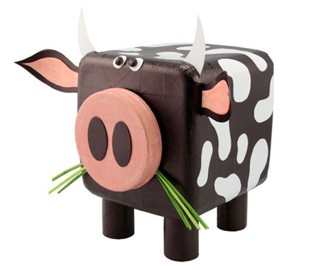 Boris the bull - make a cow craft project