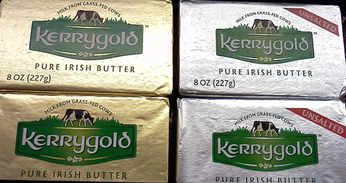 Kerrygold pure Irish butter with cows