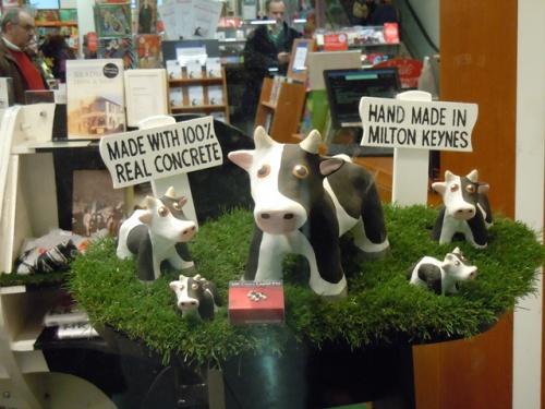 Milton Keynes concrete cows - small reproductions