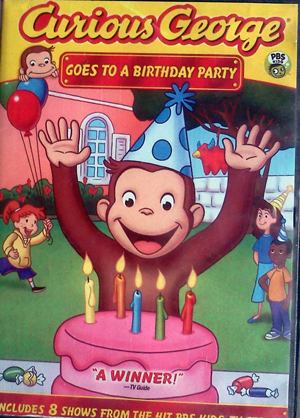 Curious George goes to a birthday party DVD