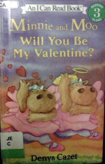 Minnie & Moo- will you be my Valentine?