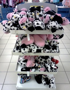 An invasion of cow slippers at Sears
