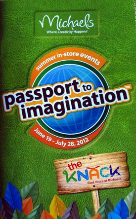 Michael's passport to imagination 2012