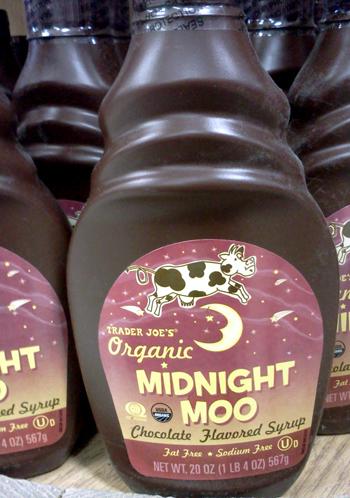 Trader Joe's Midnight Moo chocolate syrup