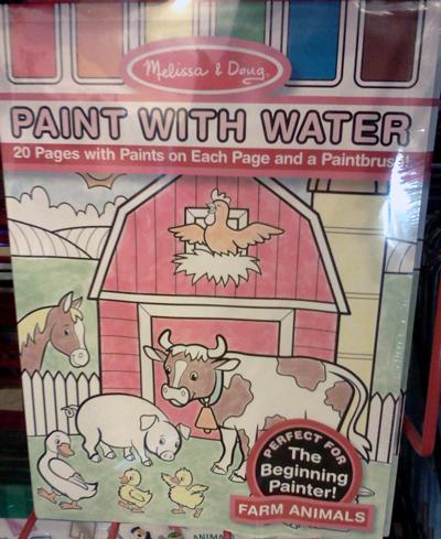 Melissa & Doug paint with water - farm animals