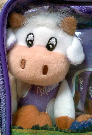 Milka cow - plush