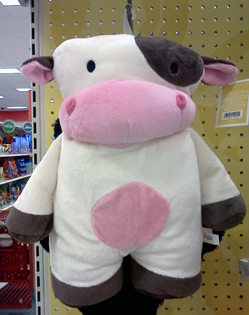 Target pillow cow
