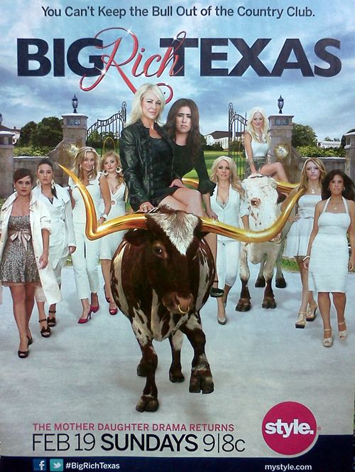 The bulls of Big Rich Texas