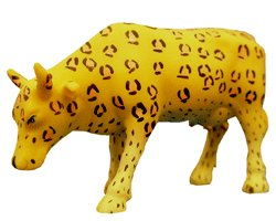 Leopard cow from the Cow Parade