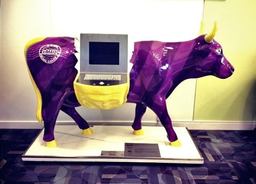 The Yahoo purple cow